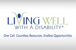 Living Well With A Disability - Logo